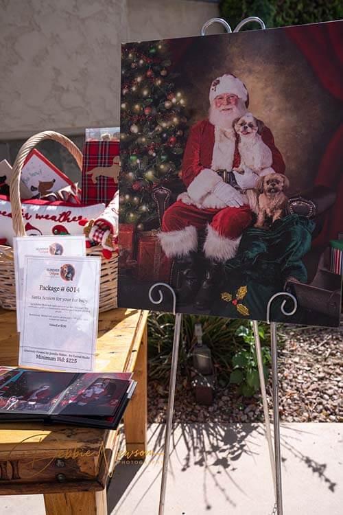 Glimmer of hope Santa gift package